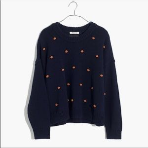 Madewell Wellesley Bobble Pullover Sweater